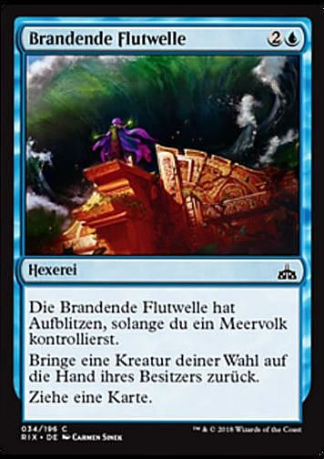 Brandende Flutwelle (Crashing Tide)