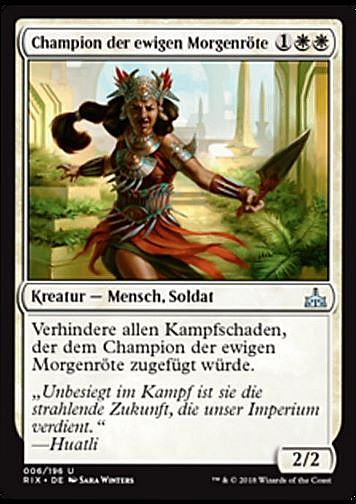 Champion der ewigen Morgenröte (Everdawn Champion)