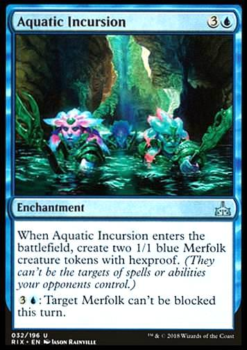 Aquatic Incursion