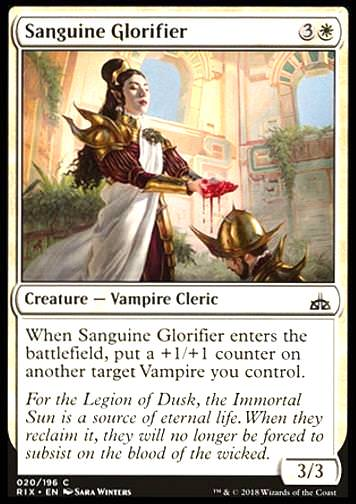 Sanguine Glorifier