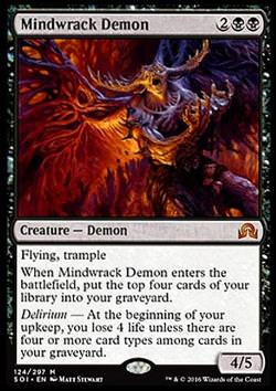 Mindwrack Demon (Hirnbrecher-Dämon)
