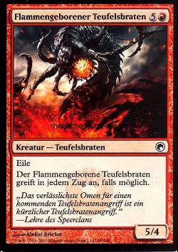 Flammengeborener Teufelsbraten (Flameborn Hellion)