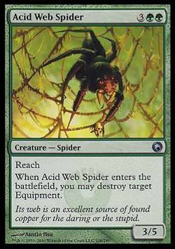 Acid Web Spider (Säurenetz-Spinne)