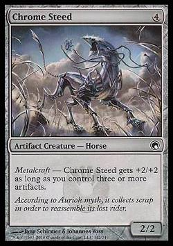 Chrome Steed (Chrom-Schlachtross)