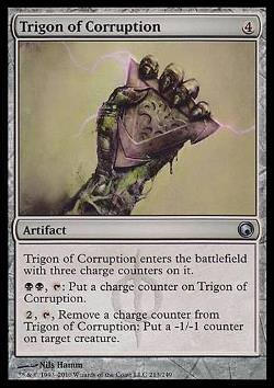 Trigon of Corruption (Trigon der Korruption)