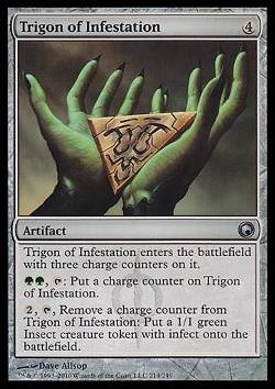 Trigon of Infestation (Trigon der Ansteckung)