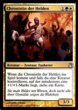 Chronistin der Helden (Chronicler of Heroes)