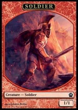 Token: Soldier 3 (Red 1/1)