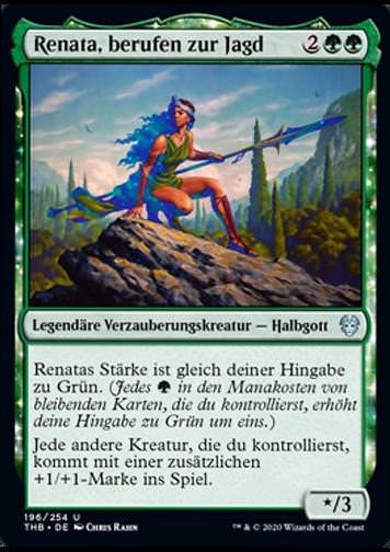 Renata, berufen zur Jagd v.1 (Renata, Called to the Hunt)