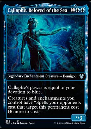 Callaphe, Beloved of the Sea v.2 (Kallaphe, Geliebte der See)