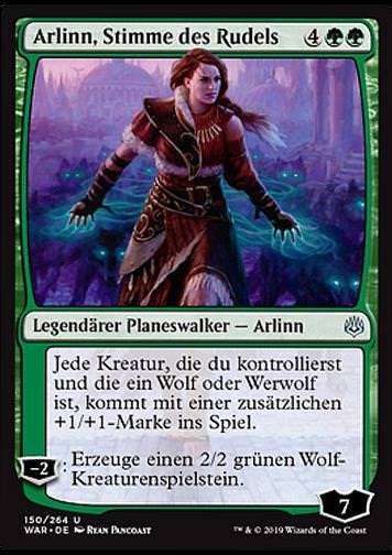 Arlinn, Stimme des Rudels (Arlinn, Voice of the Pack)