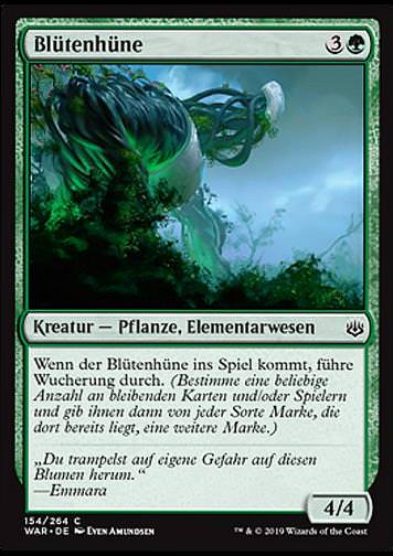 Blütenhüne (Bloom Hulk)