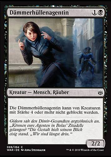 Dämmerhüllenagentin (Duskmantle Operative)