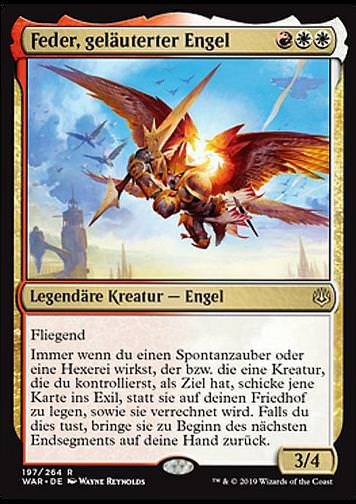 Feder, geläuterter Engel (Feather, the Redeemed)