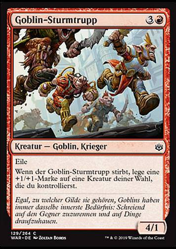 Goblin-Sturmtrupp (Goblin Assault Team)