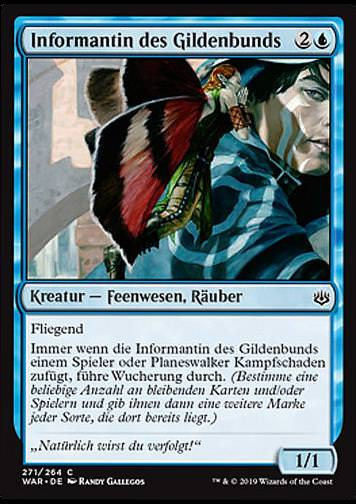 Informantin des Gildenbunds (Guildpact Informant)