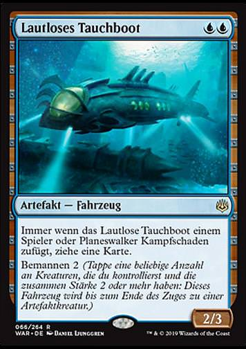 Lautloses Tauchboot (Silent Submersible)