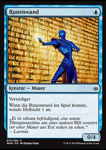 Runenwand (Wall of Runes)