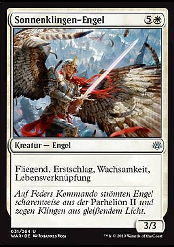 Sonnenklingen-Engel (Sunblade Angel)