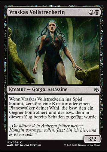 Vraskas Vollstreckerin (Vraska\'s Finisher)