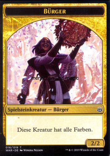 Token Bürger (Gold 2/2)
