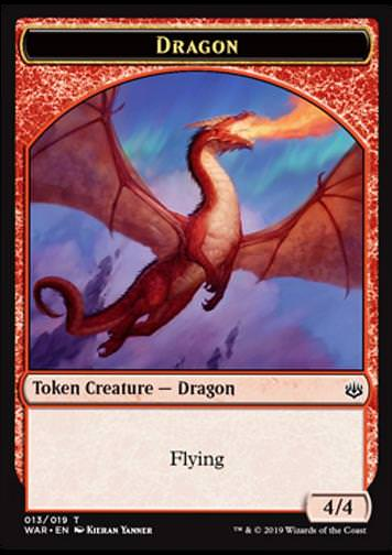 Token Dragon (Red 4/4)