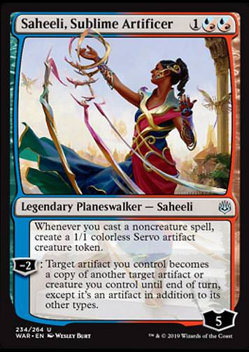 Saheeli, Sublime Artificer (Saheeli)