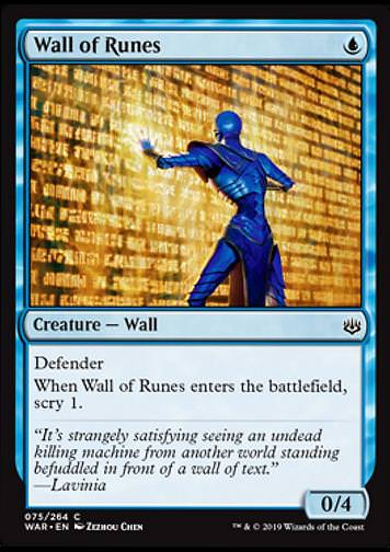 Wall of Runes (Runenwand)