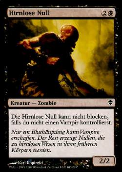 Hirnlose Null (Mindless Null)