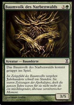 Baumvolk des Narbenwalds (Scarwood Treefolk)