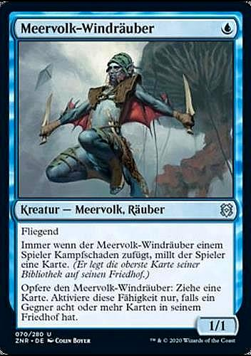 Meervolk-Windräuber (Merfolk Windrobber)