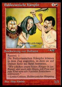 Balduvianische Kämpfer - Version 2 (Balduvian War-Makers)