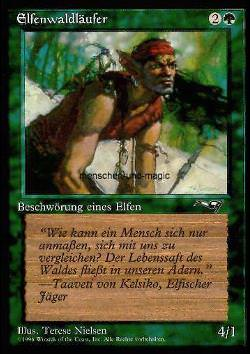 Elfenwaldläufer - Version 2 (Elvish Ranger)