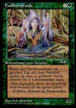 Fyndhorndruide - Version 2 (Fyndhorn Druid)