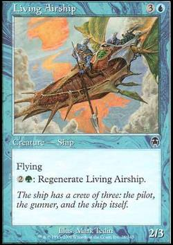Living Airship (Lebendes Luftschiff)