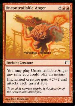 Uncontrollable Anger (Unkontrollierbarer Zorn)