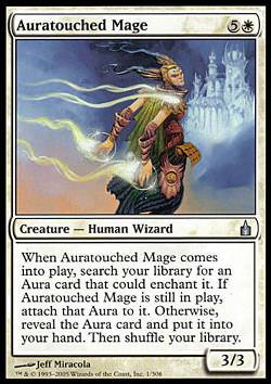 Auratouched Mage (Auraumwobener Magier)