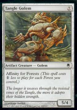Tangle Golem (Knäuelgolem)