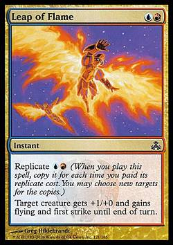 Leap of Flame (Flammender Sprung)