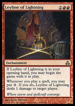Leyline of Lightning (Ley-Linie der Blitze)