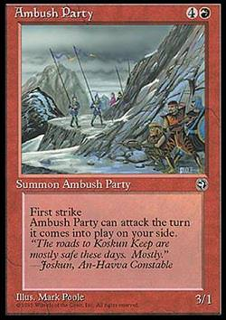 Ambush Party (v. 2) (Lauernde Räuber)