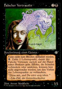 Falscher Vertrauter (Foul Familiar)