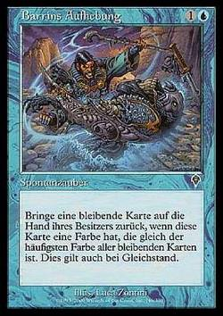 Barrins Aufhebung (Barrin's Unmaking)