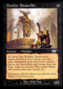 Dunkler Bittsteller (Dark Supplicant)