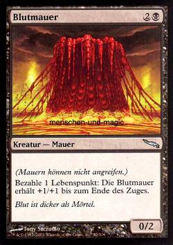 Blutmauer (Wall of Blood)