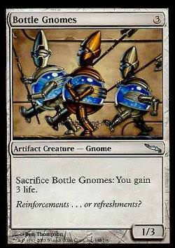Bottle Gnomes (Flaschengnome)