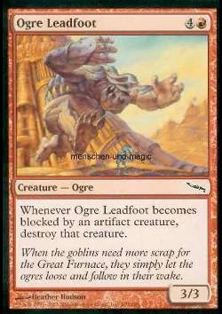 Ogre Leadfoot (Graphitfuß-Oger)