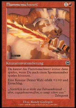 Flammenschwert (Flaming Sword)