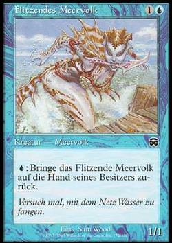 Flitzendes Meervolk (Darting Merfolk)