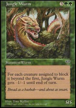 Jungle Wurm (Dschungelwurm)